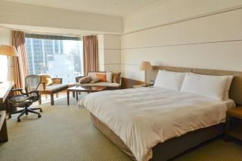 晶華酒店︱豪華客房空間大又舒適,柏麗廳早餐精緻豐富