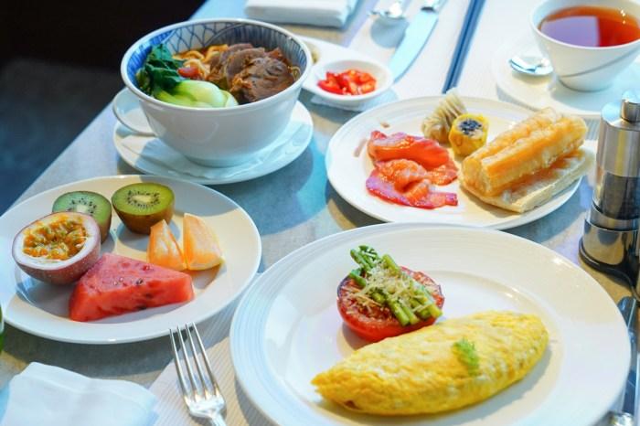 台北香格里拉豪華閣早餐︱101相伴的豪華自助餐廳,下午茶、Happy Hour也很棒