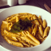 Pasta cooked to perfection!