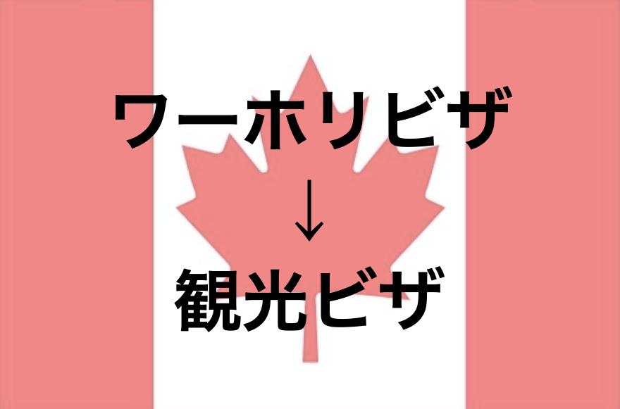 5ステップで解説!カナダのワーホリビザから観光ビザに自分で延長切替を申請する方法(ワークパーミットからビジタービザ)