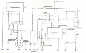 Wiring Yamaha Xs  list of schematic circuit diagram