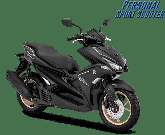 Aerox S ABS Hitam (Keyless)