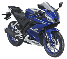 Kredit Motor Yamaha All New R15 Biru