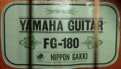 Yamaha Early FG 6 & 7 Digit Serial Numbers – Yamaha Vintage
