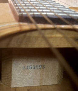 Serial numbers guitars univox Univox Guitars