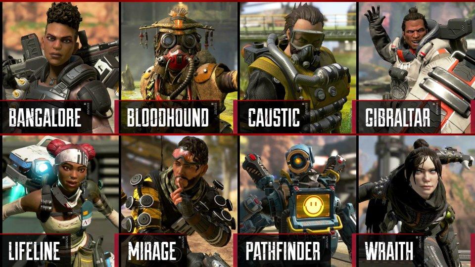 Картинки по запросу apex legends герои