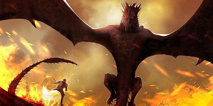 «Дрогон» из Игры Престолов
