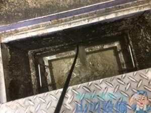 大阪府八尾市  モップシンク排水つまり修理