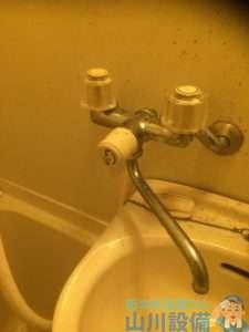 大阪府高槻市  浴室シャワー水栓水漏れ修理