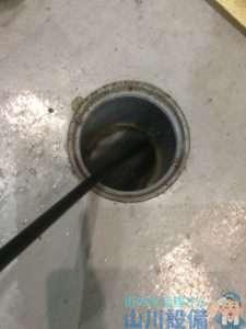 奈良県奈良市  高圧洗浄機  グリストラップ清掃
