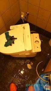 兵庫県尼崎市  トイレつまり修理