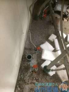 大阪府貝塚市 水道管水漏れ修理