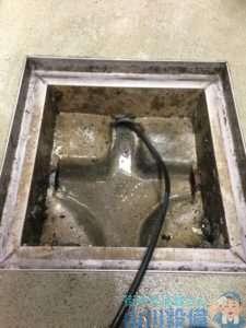 奈良県桜井市 排水つまり修理 高圧洗浄機
