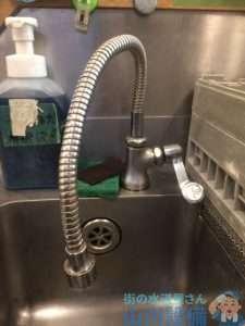 大阪府豊中市  蛇口水漏れ修理