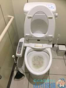 奈良県奈良市 トイレつまり修理