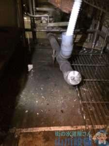 大阪府大阪市城東区今福東  漏水調査  排水詰まり修理  ドレンクリーナー