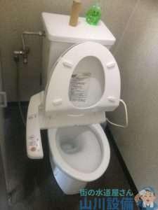 大阪府寝屋川市池田新町  トイレつまり  排水管つまり  下水つまり修理  高圧洗浄機