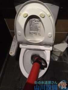 大阪府大阪市天王寺区上本町  トイレつまり修理  排水管つまり修理  ドレンクリーナー