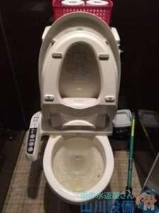 大阪府八尾市光町  トイレつまり修理