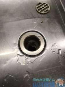 大阪府大阪市淀川区新北野  排水ホース水漏れ修理  排水ホース交換