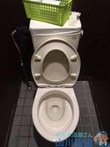 大阪府大阪市西成区梅南  トイレつまり修理