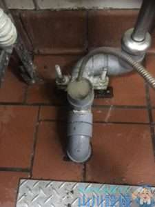 大阪府大阪市城東区鴫野  モップシンク洗面手洗い排水つまり修理  ドレンクリーナー