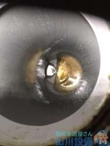 大阪府八尾市太子堂  排水管水漏れ修理  排水管つまり修理  高圧洗浄機