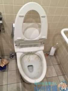 大阪府大阪市西淀川区姫島 トイレつまり修理