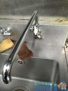 大阪府大阪市東淀川区瑞光 厨房蛇口水漏れ修理 蛇口故障修理