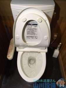 兵庫県明石市小久保  トイレつまり修理