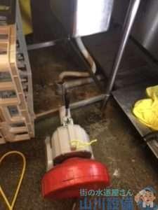 大阪府大阪市西成区天下茶屋  排水管水漏れ修理  排水管つまり修理  ドレンクリーナー