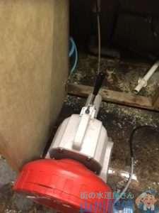 大阪府大阪市都島区東野田 トイレつまり修理 排水管つまり修理 ドレンクリーナー