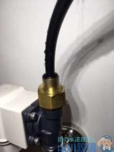 大阪府大阪市住吉区苅田  自動水栓水漏れ修理  自動水栓交換