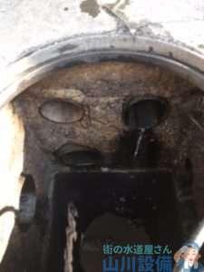 大阪府摂津市鳥飼本町  排水管定期清掃高圧洗浄機  厨房蛇口水漏れ修理  蛇口交換