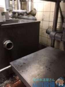 大阪府堺市北区新金岡町  排水蛇腹ホース水漏れ修理