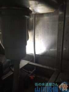 大阪府松原市新堂  給水管水漏れ修理  蛇口交換
