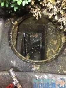 大阪府大阪市東住吉区今川  トイレつまり修理  排水管つまり修理  高圧洗浄機