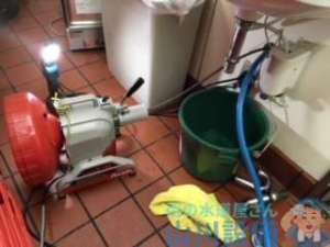 大阪府泉佐野市泉州空港北  排水つまり修理  ドレンクリーナー