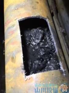 大阪府東大阪市足代北  マンション排水つまり修理  高圧洗浄機