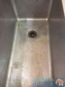 和歌山県和歌山市向  厨房排水つまり修理  ドレンクリーナー