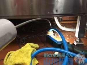 大阪府四條畷市雁屋南町  排水管水漏れ  排水管つまり修理  ドレンクリーナー