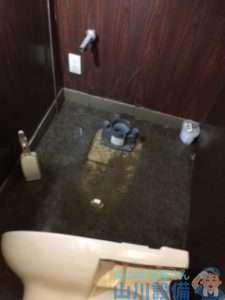 大阪府堺市北区百舌鳥西之町  トイレ水漏れ修理
