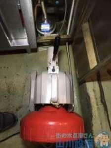 大阪府大阪市中央区南船場  排水管水漏れ修理  排水管つまり修理  ドレンクリーナー