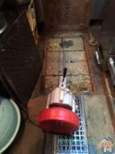 大阪府大阪市北区浪花町  グリストラップ排水管つまり修理  ドレンクリーナー