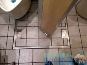 大阪府大阪市中央区難波 トイレ男子小便器つまり修理