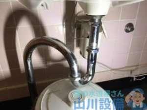 実は店長さんが触らなければ…和泉市いぶき野の排水パイプの水漏れは最後にオチあり
