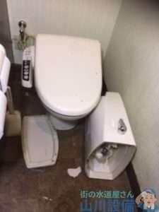 大阪市北区小松原でのトイレつまり修理は思いもよらん結果が待ってました(苦笑)