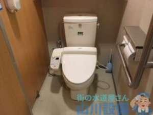 電力ダウンで受水槽からのポンプが動かず通電のタイミングで漏水調査の巻、茨木市清水編