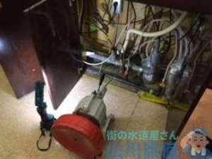 世間が地震で大騒ぎしてるのに1発目は排水つまり修理してましたの巻、大阪市城東区今福東編