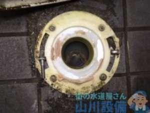寝屋川市香里新町のトイレつまり修理はローポンプ作業で解決せず